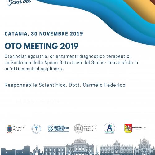 OtoMeeting 2019 – 30 Novembre 2019