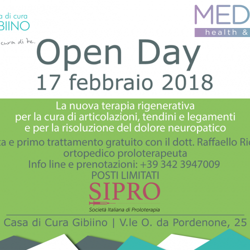 Open Day Menopausa – 18 Ottobre 2018